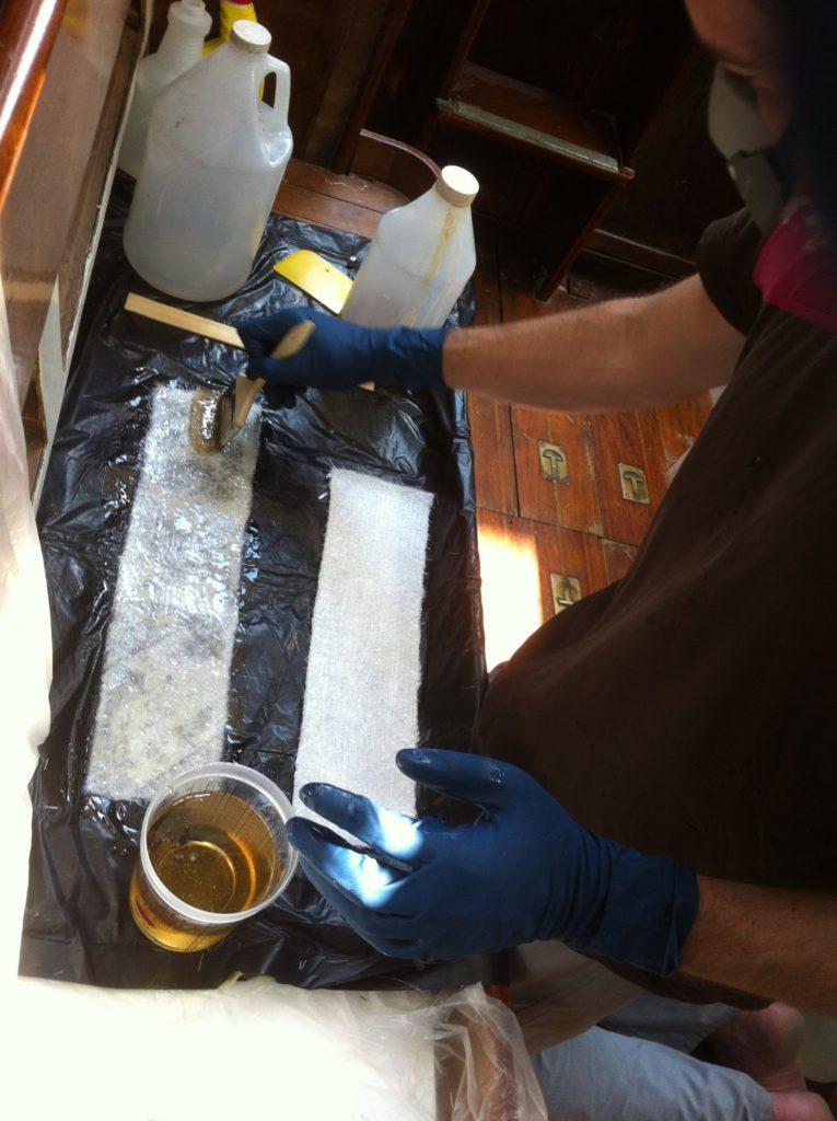 fiberglass stripe repair