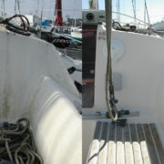 Cockpit of boat cleaned with Boat Buddy Boat Cleaner